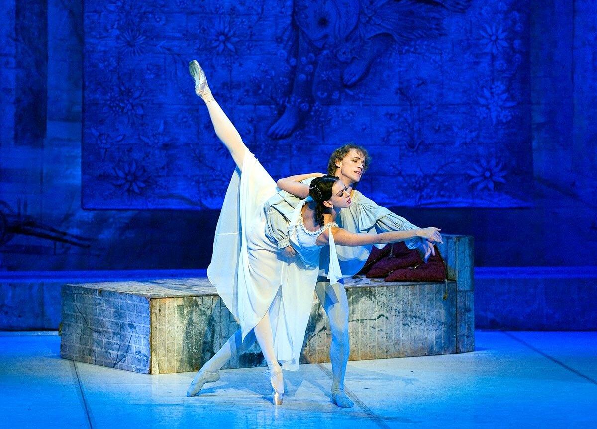 балет ромео и джульетта фото